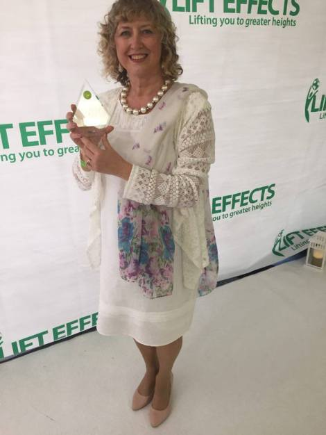 3 Life Effects. Me with my award